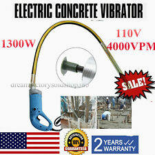 1300W Electric Concrete Vibrator Construction Tool Air Bubble Remover Hand Held