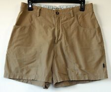 Horny Toad Tan Brown Cotton/Nylon Casual Shorts 10
