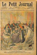 Alexandra Feodorovna TSARINE RUSSIE RUSSIA Tsarina Maria Feodorovna  1903