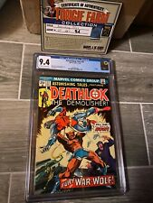 Astonishing Tales 27 CGC 9.4 Off-White to White pages. 3rd Deathlok appearance!