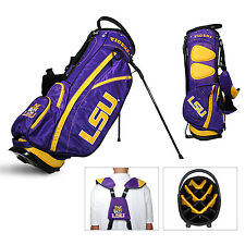 Licensed NCAA LSU Louisiana State Tigers Team Golf Stand Bag