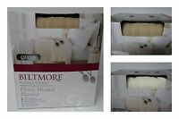 BILTMORE QUEEN SIZED FLEECE ELECTRIC HEATED BLANKET DUAL CONTROLS 5 SETTINGS new