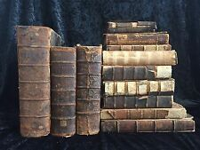 17th Century LIBRARY Protestant REFORMED French LATIN Provenance RARE Bible