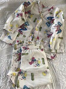 Naruto Pyjama Size 4 To Fit 4-5Y Boys Pyjama