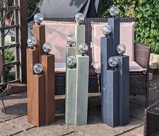 Garden Light Feature - Solar Powered - Bespoke colours available Handmade