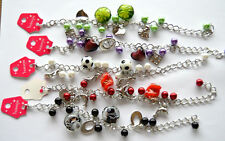 Aluminium Glass Beaded Costume Bracelets