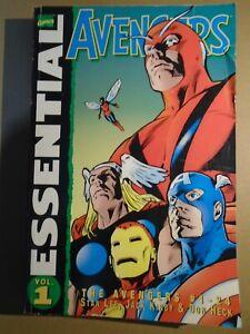 ESSENTIAL AVENGERS Vol. 1 Marvel Comics 2001 tp tpb gn