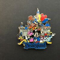 DLR - Characters with Sleeping Beauty Castle Disney Pin 88230