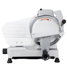 10 Blade Deli Meat Slicer 240w 530rpm Food Cheese Commercial Electric Slicer