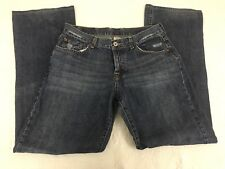 Lucky Brand Women's Denim Jeans Easy Rider Dungarees Size 6 Made In USA