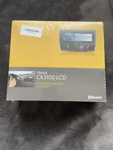 Brand New Sealed Parrot CK3100 Bluetooth Handsfree Car Kit with LCD display