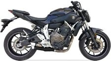 IXIL Hyperlow black XL Edelstahl-Komplettanlage für Yamaha MT-07, 17-, XSR 700,