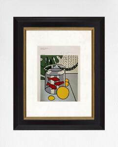 Roy Lichtenstein 1981 Original Print, Hand Signed with CEO