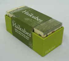 HAIKUBES - CREATE CAPTIVATING HAIKU WITH A ROLL OF THE DICE - NEW W/ TEAR