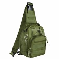 Tactical Military Sling Molle Shoulder Bag Backpack with Adjustable Strap