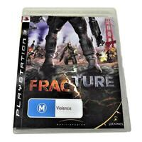 Fracture Sony PS3