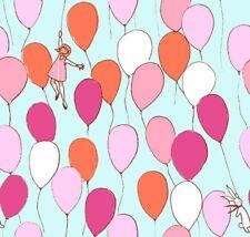Sarahjane Balloons Bright Summer Michael Miller Fabric FQ or More 100% Cotton