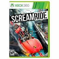Screamride (Xbox 360) BRAND NEW SEALED SCREAMRIDE