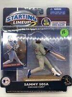 2000 Sammy Sosa Chicago Cubs SLU2 Kenner Starting Lineup mint condition
