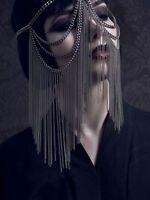 Charm Gothic Bohemian Boho Hair Crown Cuff Headband Headwrap Hairwear Headdress
