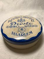 Antique Droste Milk Chocolate Tin From Haarlem, Holland