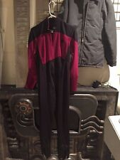 STAR TREK PROP COSTUME  TNG   NEXT GENERATION    red   SCREEN USED