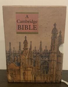 A Cambridge Bible: King James Version, Leather Bound, Gilt Edges,