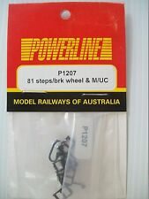 POWERLINE 81 CLASS STEPS, BRAKE ADJUSTERS & MU CABLES
