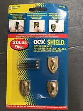 Ook Impex Systems #55003 3Pc 20Lb Shield Hanger,No 55003, Ook/Impex Systems Grou