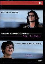 BUON COMPLEANNO MR. GRAPE (Johnny Deep - L. Di Caprio) - DVD NUOVO E SIGILLATO