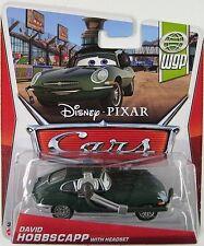 CARS 2 - DAVID HOBBSCAPP HEADSET - Mattel Disney Pixar