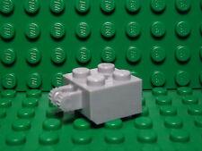 Lego NEW light bluish gray 2 x 2 hinge brick w/ locking fingers   Lot of 5