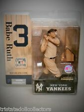 McFARLANE BABE RUTH #3 NY Yankees MLB '05 Cooperstown Series 2 SEPIA VARIANT_New
