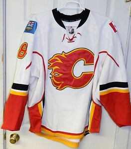 2013/14 Calgary Flames  NHL Game Worn Game Used Jersey  Joe Colborne #8