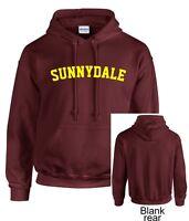 Sunnydale School Adult Hoodie Hooded Sweatshirt Buffy Style SHS