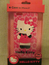 HELLO KITTY iPhone 5 Durable Shell Phone Case Cover Pink NEW IN PACKAGE NIP