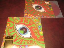 13TH FLOOR ELEVATORS PSYCHEDELIC SOUND OF LIMITED COLORED & BLACK VINYL 2 LP SET