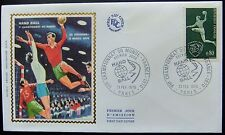 Enveloppe 1é jour du 21 02 1970 Paris VIIé Championnat du Monde de Hand-Ball