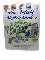The Artist's Sketchbook Albany Wiseman Patricia Monahan Drawing Book HC DJ