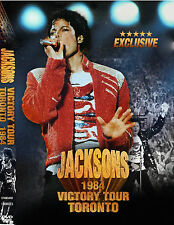 Michael Jackson & the Jacksons Victory Tour Toronto rare DVD