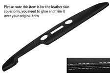 GREY STITCH PRE AIRFLOW TOP DASH DASHBOARD LEATHER COVER FITS FORD CORTINA MK1