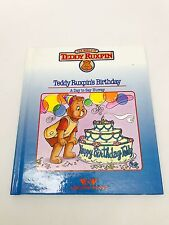 Vintage Teddy Ruxpin's Birthday A Day to Say Hurray Book Only Worlds of Wonder