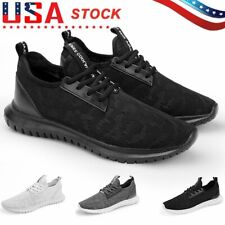 Men's Sports Casual Running Shoes Breathable Mesh Athletic Sneakers Jogging Gym