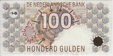 Netherlands Banknote P101-9432  100 Gulden 1992 Black barcode, AU