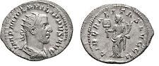 Ancient Rome 245 AD Philippus I Arab- Silver Antoninianus Liberalitas Cornucopia