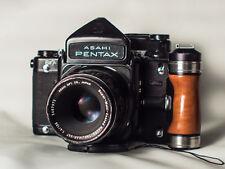PENTAX/RICOH 67 MF Spiegelreflexkamera 6x7 + 105mm F2.4 + 75mm + 135mm Macro CLA