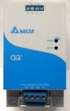 DELTA ELECTRONICS DRP024V240W3BN POWER SUPPLY 400-480V 3PH 10A/240W 24VDC (2B1)