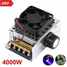 Ac 110 220v Scr Motor Speed Controller Volt Regulator Dimmer Thermostat 4000w
