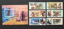 Caribbean Wild Animals set and S/Sh.2002,MNH.CU 209