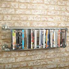 Floating Style 40 DVD Rack Shelf Vintage Retro Industrial. 20% VAT inc.